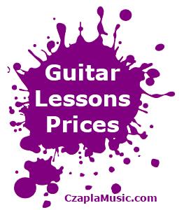 Edmonton Guitar Lessons Prices