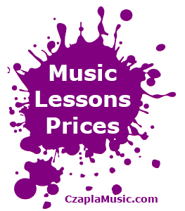 Edmonton Music Lessons Prices