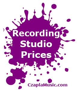 Edmonton Recording Studio Czapla Music