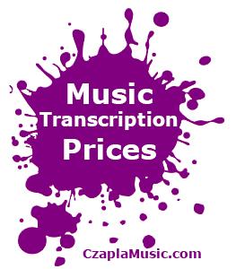 Music Transcriptions